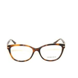 63aa3ceeb68 Versace Accessories - Versace 3205B 5061 54 Medium Havana Eyeglasses